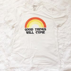 Forever 21 Tops - SALE 🌸 FOREVER 21 GOOD THINGS WILL COME TEE